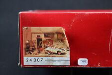YY011 JMP productions rare maquette construction plâtre 24007 Garage diorama rue