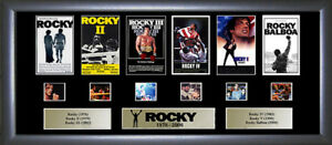 Rocky memorabilia Rocky (all 6 films) De Luxe Film Cell Limited Edition