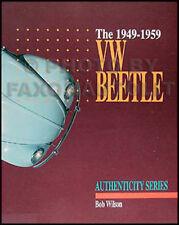 VW Beetle Bug Originality Restoration Guide 1949-1959 1954 1955 1956 1957 1958