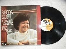 "LP RHODA SCOTT ""A L'Orgue Hammond (Take A Ladder)"" BARCLAY 920 168 FRANCE §"