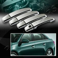 MIRROR CHROME DOOR HANDLE COVER CAPS TRIM 8-PCS FIT 13-15 CHEVY SONIC/MALIBU
