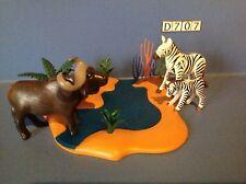 (D707) playmobil animaux de la savane, safari ref 4828 4826 4827 4830 4829