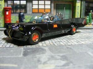Corgi 267 Batmobile Red Bat Hubs issued 1967 with door error