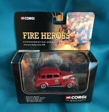 Corgi Fire Heroes Diecast Fire Chief 1939 Chevrolet Sedan Memphis NEW