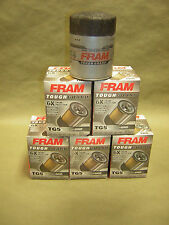 6x Fram TG5 Tough Guard Oil Filters NEW GM PF35,PF1218 Synthetic-Blend filter