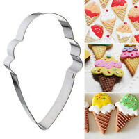 DIY Ice Cream Model Stainless Steel Cookie Dessert Cake Mould Party Hot