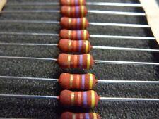 Lot of 10 PHILIPS PR02 Metal Film Resistor 47K Ohms 2 Watts 2W 5%