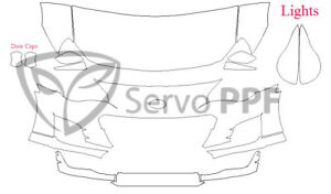 17+ Subaru BRZ 3M Scotchgard Pro Series Clear Bra Kit