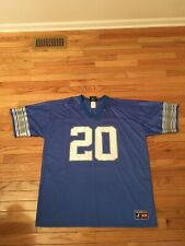 Barry Sanders Detroit Lions NFL Vintage Logo Athletic Jersey NWOT Men's Size XXL