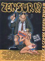 Diverse Autoren: Zensur - Musik und Comics gegen Zensur - HC-Album