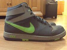 Men's Nike Prestige IV Green/Grey High Basketball Shoes 584614-030 Size 11.5