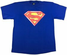 Vintage 1997 Warner Bros. Studio Store Superman DC Comics Graphic Men's T-Shirt