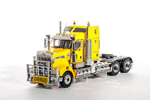 Kenworth T909 Prime Mover Truck - Chrome Yellow - Drake 1:50 Scale #Z01434 New!