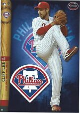 CLIFF LEE FATHEAD TRADEABLES PHILADELPHIA PHILLIES REMOVABLE STICKER 2014 #24