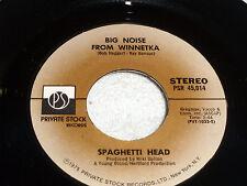 Spaghetti Head: Big Noise From Winnetka/ Funky Axe [new w/ mfg slv Unplayed ]