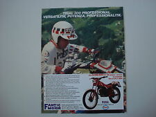 advertising Pubblicità 1984 MOTO FANTIC 300 TRIAL PROFESSIONAL