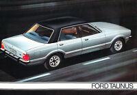 1977 Ford Taunus Original Dutch Sales Brochure Catalog Prospekt