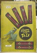 1950's Display Board - Woman's Talenium Watch Bands