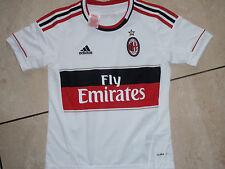 Adidas neu AC Mailand Trikot A Größe 152 weiß/rot Wunschflock möglich