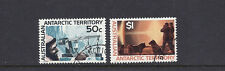Australian Antarctic Territory 1966-68 ( Sg 17-18 high values) Vf Used