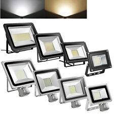 300/200/100/20W LED PIR Flood Light Motion Sensor Security Lights Daylight White