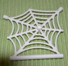 (1) 1x7x5  Large White Spider Web ~ Spiderman ~ New Lego Parts ~
