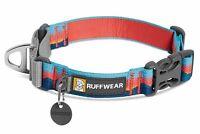 Ruffwear Web Reaction Dog Collar - Webbing Martingale Buckle, Reflective