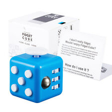 NY IN STOCK Fidget Cube Anxiety Stress Relief Better Focus Autism ADHD Toys