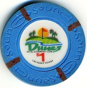 Dunes Casino $1 Chip, Las Vegas, NV F3689