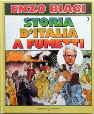 ENZO BIAGI STORIA D'ITALIA A FUMETTI N.7 DEAGOSTINI 1988