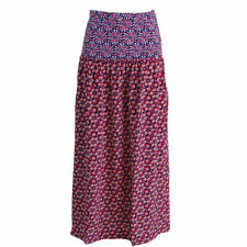 NEW Womens Juicy Couture Black Label Silk Poppy Girl Ditsy Daisy Red Skirt AU16