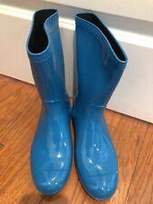 Ugg Rain Boots W Sienna Blue Size 7