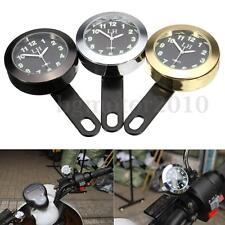 Waterproof Motorcycle Motorbike Dial Handlebar Mount Clock Bracket For Harley