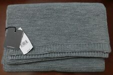 Steve Madden Heather Grey Men's Textured Scarf