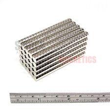 500 Imanes 6x3 mm Imán De Neodimio Disco Redondo Pequeño 6mm diámetro x 3mm Artesanía Nevera
