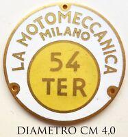 """Distintivo per Dipendenti della Fabbrica Militarizzata """"La MotoMeccanica"""" Milano"""