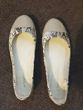 Ladies size 8.5-9 Neat Slip on Snake Skin Print Shoes by Target