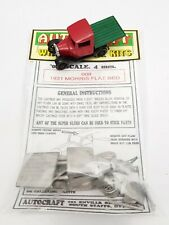 1931 PRE-WAR MORRIS FLATBED TRUCK / LORRY / VAN OO GAUGE 1/76 4MM METAL KIT