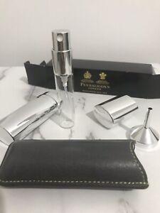 New Penhaligon's London 10ml Perfume Travel Atomiser + Funnel & Leather Pouch 🤩