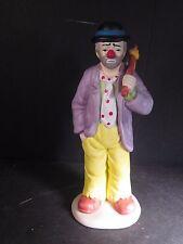 Flambro Emmett Kelly Jr. Hobo Clown Holding Knapsack