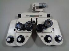 Estate Shin Nippon Sight Tester ST-10 Manual Phoropter Manual Vision Refractor