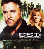 CSI - Scena Del Crimine - Stagione 8 Completa - Cofanetto 3 Blu Ray - Nuovo