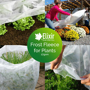 3m Wide Garden Cold Frost Wind Fleece for Winter Plant Protection 5 - 250m