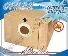 C102K 8 sacchetti filtro carta x Elettrozeta Tristar