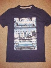 T-shirts et hauts bleus coton mélangé pour garçon de 12 ans