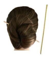 Metal Hair Stick, Copper Hair Bun Holder Pin, Brass Long Hair Chopstick, Gift