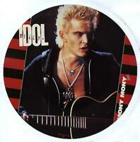 """NEW / MINT BILLY IDOL MONY MONY / SHAKIN ALL OVER 12"""" VINYL PICTURE DISC"""