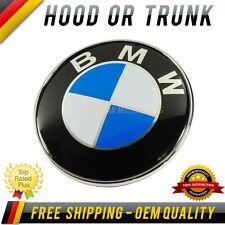 BMW HOOD / TRUNK LOGO EMBLEM BADGE ROUNDEL 82mm Genuine BMW