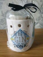 Blue Gin Wax Melt Burner Oil Wax Tart & Wax Melt Gift Set  Free Postage
