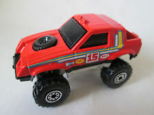 1983 Hot Wheels Red Off-Road #15 Gulch Stepper Jeep 4x4 Truck - Malaysia 1:64